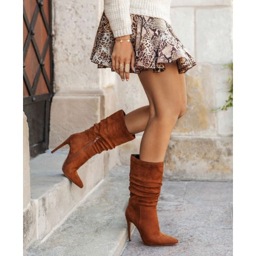 BOTAS LETICE CHOCOLATE